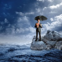 a business insurance concept photo