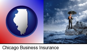 Chicago, Illinois - a business insurance concept photo
